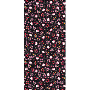 [JUNIOR]BUFF HELLOKITTY FLOWERS BLACK