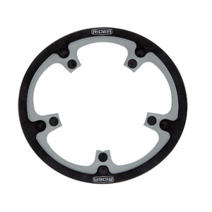 RIDEA CHAINRING FOR BROMPTON (BLACK/SILVER)