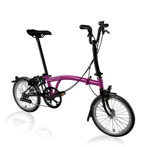 BROMPTON M2L BLACK EDITION BERRY CRUSH