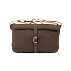 BROMPTON ROLL TOP BAG (WAXED CANVAS)