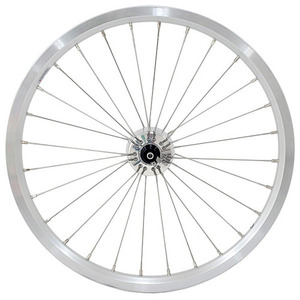 SCHMIDT SON HUB WHEELSET (POLISHED SEMI RADIAL)
