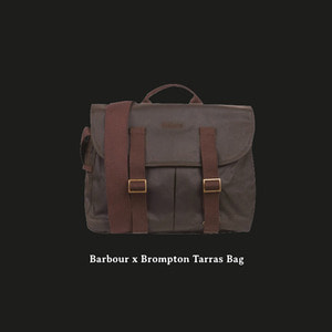 BROMPTON X BARBOUR TARRAS BAG ★재입고예정★